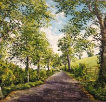 Corrstown - Elsie Sheridan - original oil paintings and landscapes of Ireland.