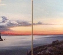 Sunset - Elsie Sheridan - original oil paintings and landscapes of Ireland.